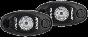 Lighting/Electrical - Off Road Lights - RIGID Industries - RIGID Industries A-SERIES LP BLK BLU /2 482053