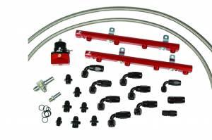 Aeromotive Fuel System - Aeromotive Fuel System 1997 thru 2005 Ford 5.4 Liter 2 valve Fuel Rail Kit (non lightning truck) 14118