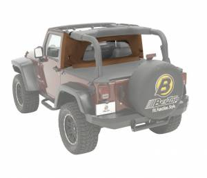 Tops & Parts - Soft Top Parts - Bestop - Bestop Wrap-Around Windjammer Jeep 1997-2002 Wrangler 80033-37