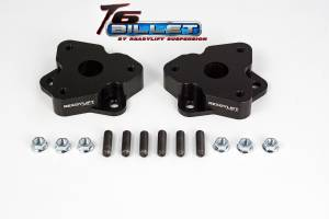 Suspension - Leveling Kits - ReadyLift - ReadyLift 2006-18 DODGE-RAM 1500 2'' Leveling Kit T6 Billet Black T6-1030-K