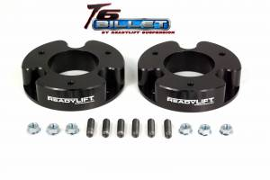 Suspension - Leveling Kits - ReadyLift - ReadyLift 2004-07 NISSAN ARMADA/TITAN 2'' Leveling Kit T6 Billet Black T6-4000-K