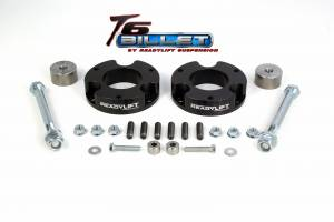 Suspension - Leveling Kits - ReadyLift - ReadyLift 2005-16 TOYOTA TACOMA 2.25'' Leveling Kit T6 Billet Black T6-5055-K