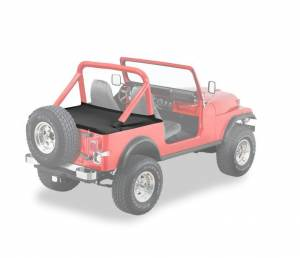Exterior - Tonneau Covers - Bestop - Bestop Duster Deck Cover Jeep 1980-1991 CJ7; Wrangler 90005-01