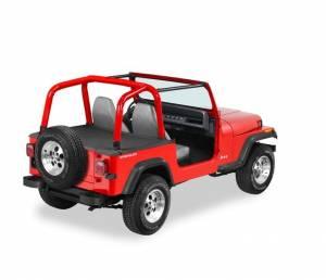 Exterior - Tonneau Covers - Bestop - Bestop Duster Deck Cover Jeep 1992-1995 Wrangler 90010-15