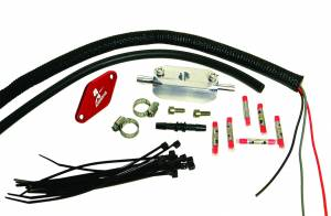 Aeromotive Fuel System - Aeromotive Fuel System 1998 1/2 thru 2004 Ford 4.6 L Fuel Pressure Sensor Relocation Kit 17114
