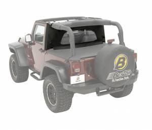 Tops & Parts - Soft Top Parts - Bestop - Bestop Wrap-Around Windjammer Jeep 2007-2018 Wrangler 2DR 80041-35