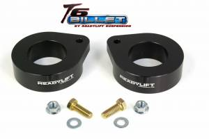 Suspension - Leveling Kits - ReadyLift - ReadyLift 2007-17 JEEP JK 1.5'' Coil Spring Spacer Leveling Kit T6 Billet Black T6-6091-K