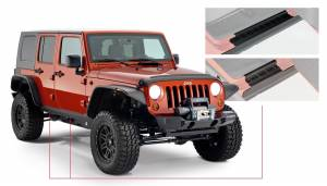 Exterior - Body Armor & Sliders - Bushwacker - Bushwacker TRAIL ARMOR 14012