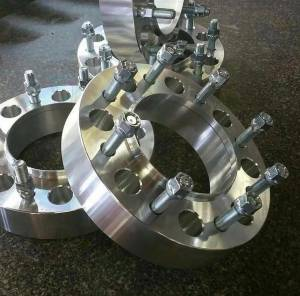 "Wheel Spacers/Adapters - Shifted Industries - 2"" 8x200 Hub/Wheel Centric Spacer Pair (FORD F350 DUALLY)"