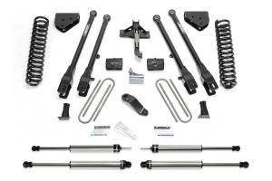 "Fabtech - 6"" 4 LINK SYSTEM W/ DIRT LOGIC SHOCKS (08-16 Ford F250/350"