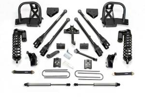 "Suspension - Lift Kits - Fabtech - 6"" 4 LINK SYSTEM W/DIRT LOGIC 4.0 COILOVERS & REAR DIRT LOGIC SHOCKS (08-16 Ford F250/350"