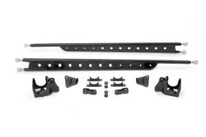 Suspension - Traction Bars - Fabtech - FLOATING REAR TRACTION BAR SYSTEM (99-10 Ford F250/350)