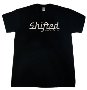 Shifted Industries - Shifted Industries Chrome Vinyl Shirt - Black