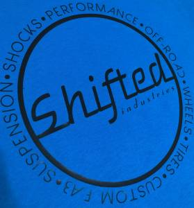 Shifted Industries - Shifted Industries Circle Shirt - Bright Blue