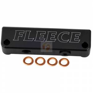 Fuel System - Fuel System Parts - Fleece Performance - 2010-2018 4th Gen Dodge/Cummins Fuel Filter Delete Fleece Performance