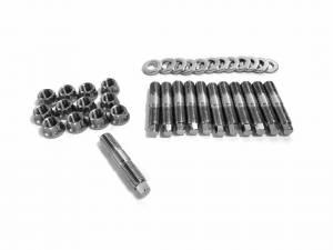 Exhaust Components - Headers & Manifolds - Fleece Performance - Fleece Performance Exhaust Manifold Stud Kit - 7mm External Hex Head Fleece Performance