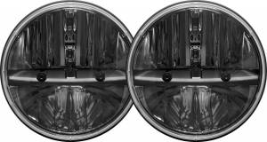 "Lighting/Electrical - Off Road Lights - RIGID Industries - RIGID Industries 7"" RND HL NON JK /2 55009"