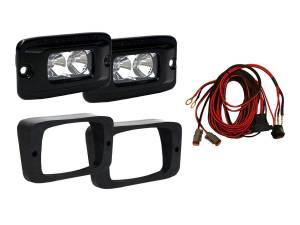Lighting/Electrical - Lighting Accessories - RIGID Industries - RIGID Industries 14-15 XP1000 RZR FENDER KIT 465623