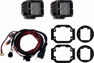 Lighting/Electrical - Lighting Accessories - RIGID Industries - RIGID Industries 16-17 NISSAN TITAN FOG MOUNT SAE KIT 465853