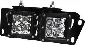 Exterior - Grilles - RIGID Industries - RIGID Industries 10-15 RAM 25/3500 4 D-SRS MT 46510