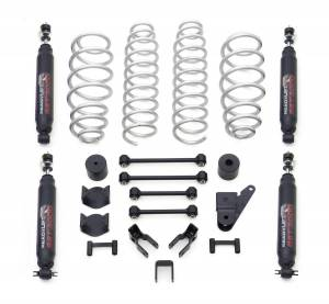 Suspension - Lift Kits - ReadyLift - ReadyLift 2007-17 JEEP JK 4'' SST Coil Spring Lift Kit with SST3000 Shocks 69-6401