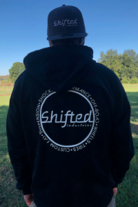 Shifted Apparel  - Outerwear - Shifted Industries - Shifted Industries Full-Zip Hoodie