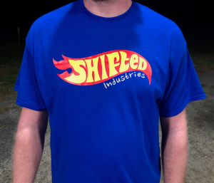 Shifted Industries - Shifted Industries Flame Shirt